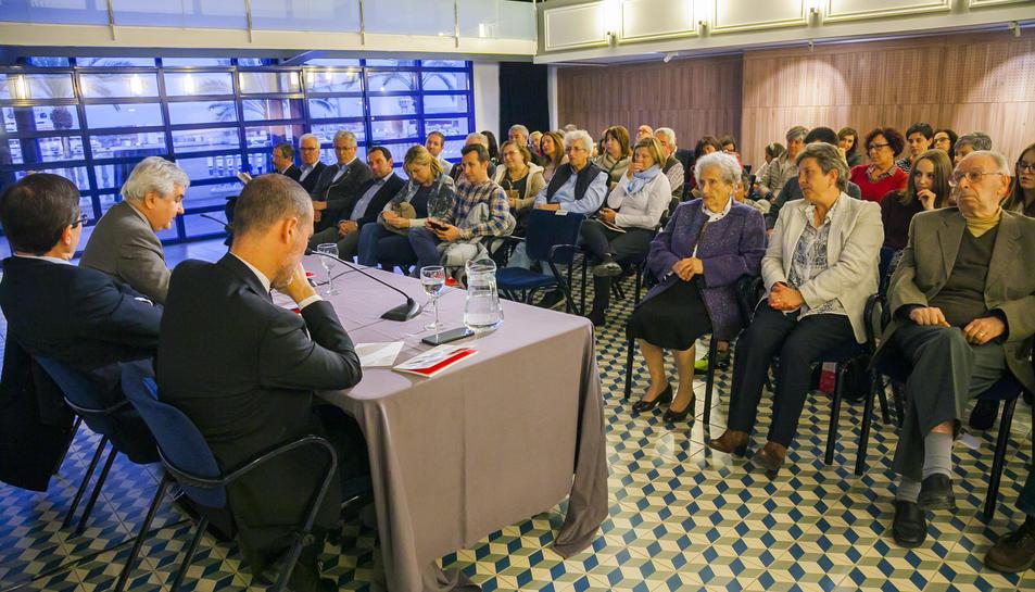 Presentación libro Enrique Villagrasa