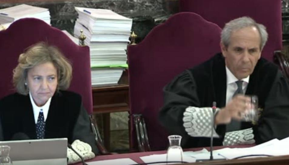 Imatge del judici de l'1-O.