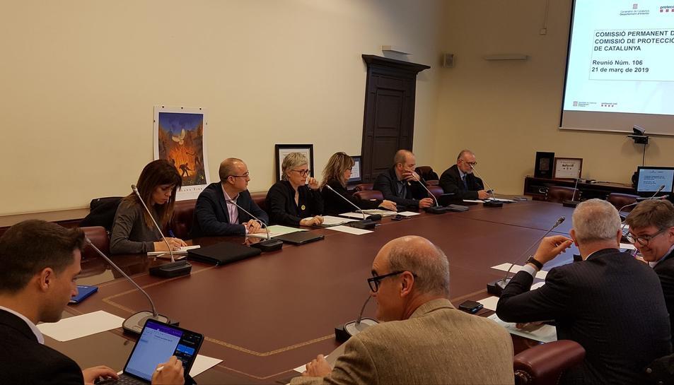 Reunió de la Comissió Permanent de Protecció Civil de Catalunya