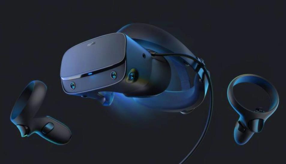 El nou sistema de realitat virtual de Facebook, l'Oculus Rift S.