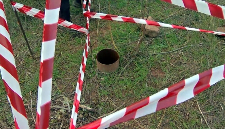 Imatge d'un pou sense tapar a Altafulla.