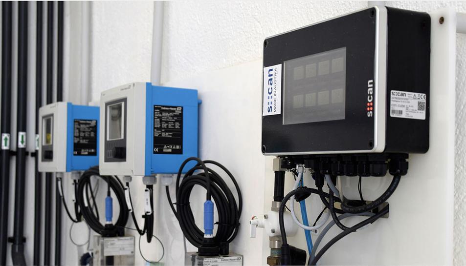 Els sensors permeten millorar la qualitat de l'aigua que se subministra.