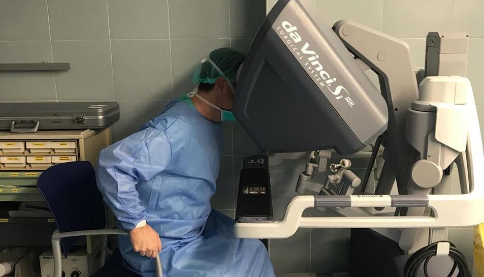 Les primeres cirurgies amb robot Da Vinci del Servei d'Otorinolaringologia del centre tarragoní s'han realitzat aquest mes de març.