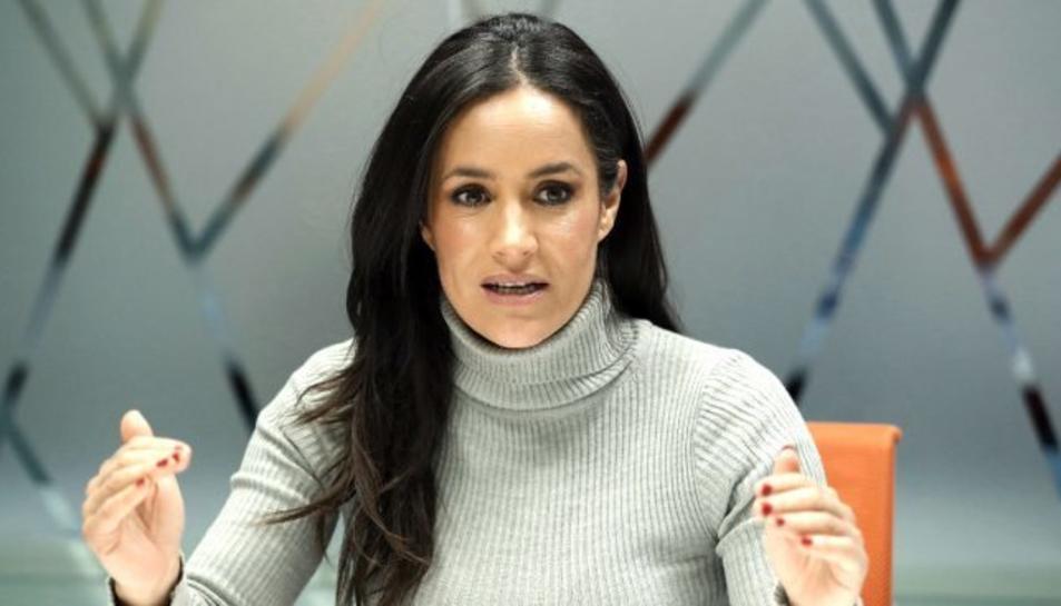 Begoña Villacís, candidata a l'alcaldia de Madrid per Ciutadans.