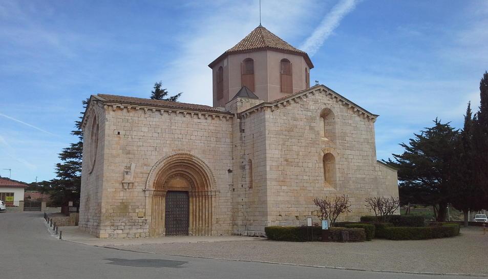 L'església de Sant Ramon.