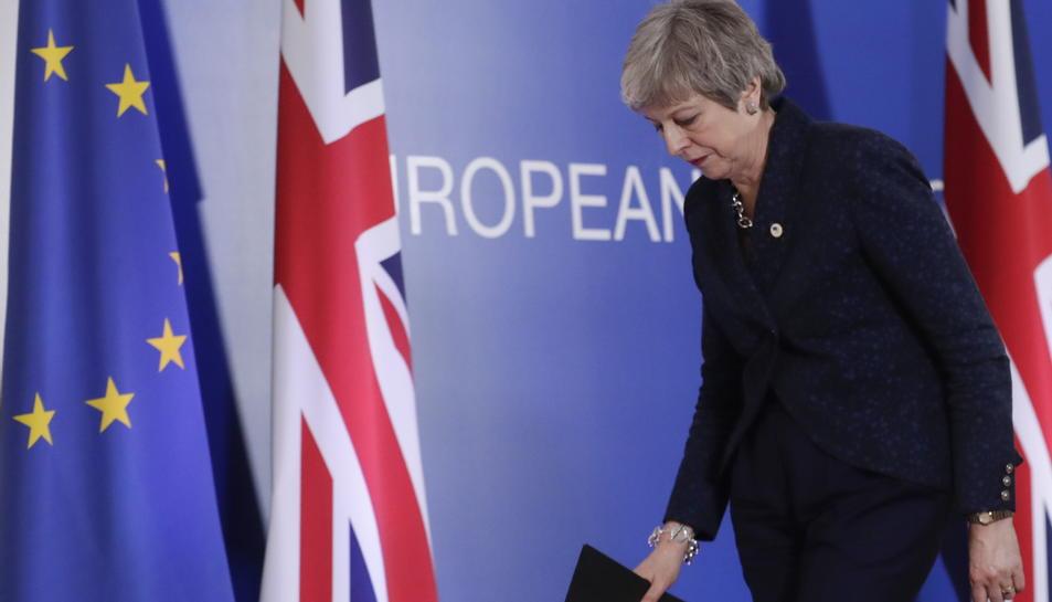 Theresa May en una imatge d'arxiu.