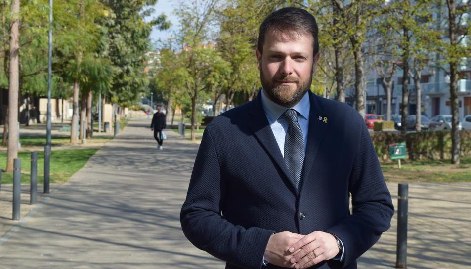Gerard Figueras, secretari General de l'Esport de la Generalitat de Catalunya.
