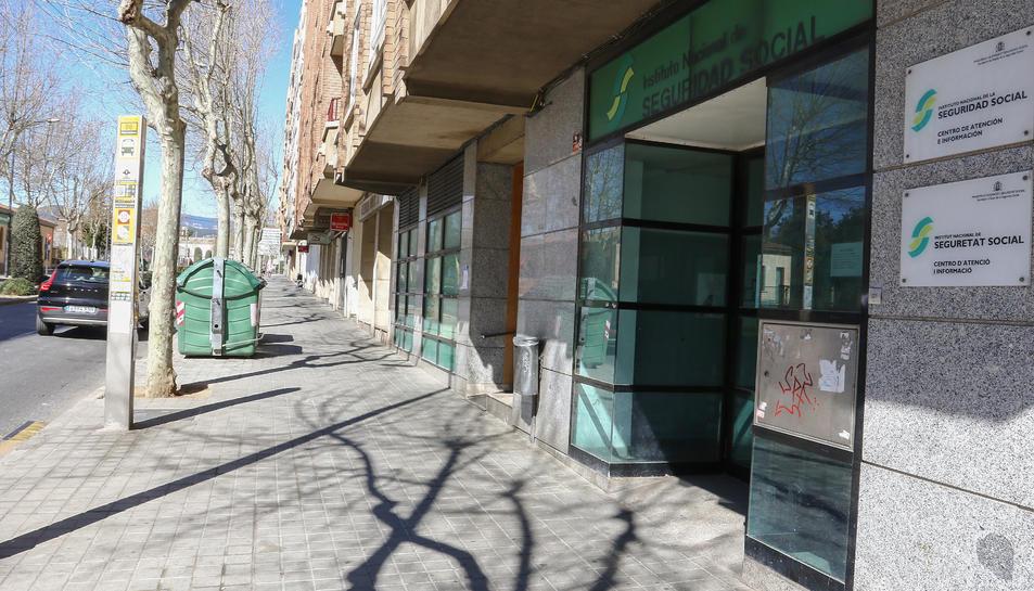 Una imatge d'arxiu d'un dels locals que s'ofereixen, al número 36 de Països Catalans.
