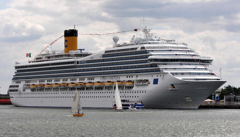 El Costa Fortuna serà un dels creuers que portaran turistes a Tarragona aquest 2019.