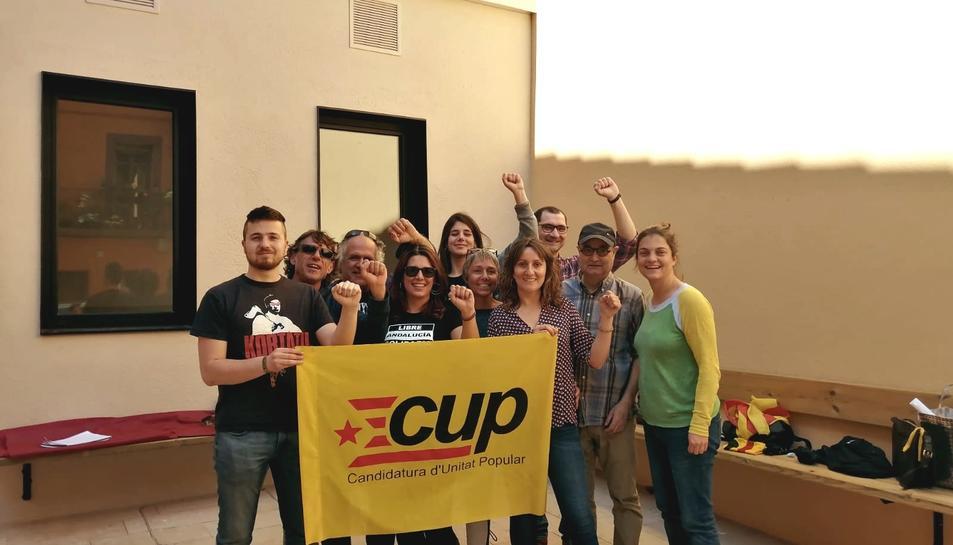 La candidatura municipal de la CUP per la Selva del Camp.