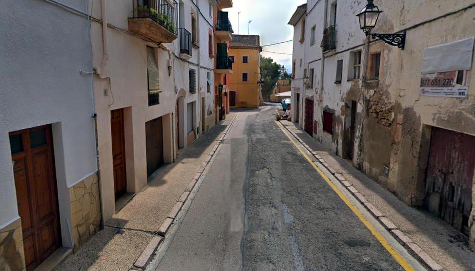 Imatge del carrer Barceloneta.