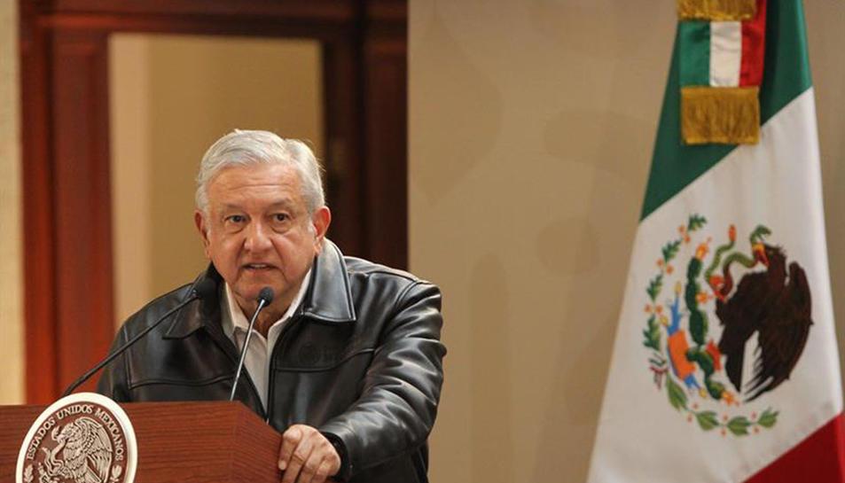 El president de Mèxic, Andrés Manuel López Obrador.
