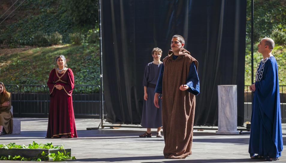 Teatro Grecolatino en el Camp de Mart