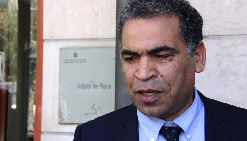 L'advocat de l'associació Watani de Reus, Hilal Tarkou.