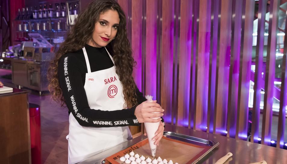 Sara Muñoz, concursant de Masterchef