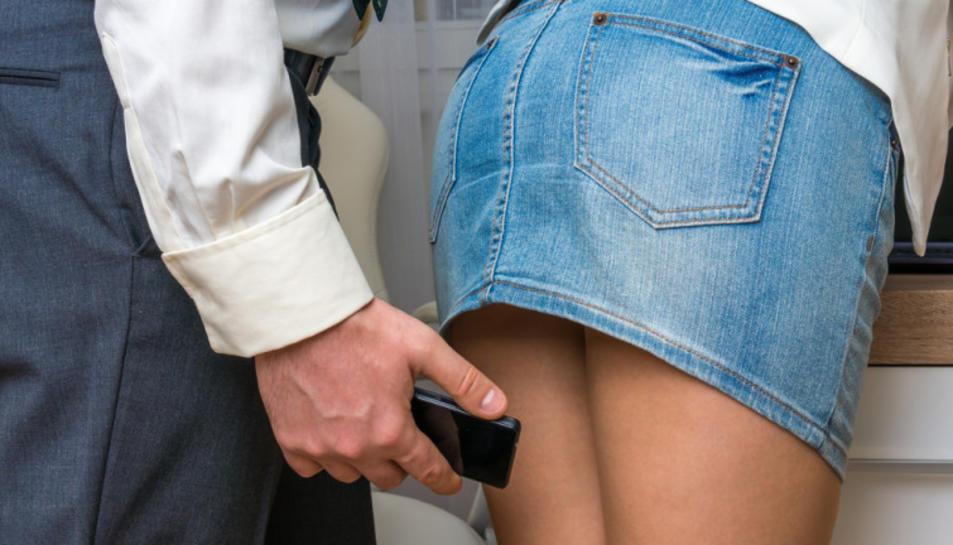 El detingut enregistrava a dones sense el seu consentiment.