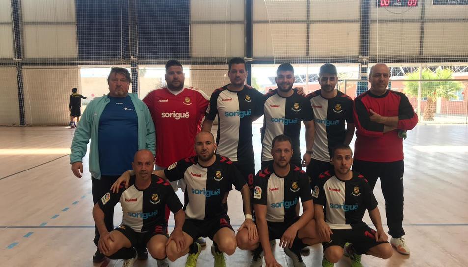 L'equip de futbol sala del Port de Tarragona està preparat pel repte.