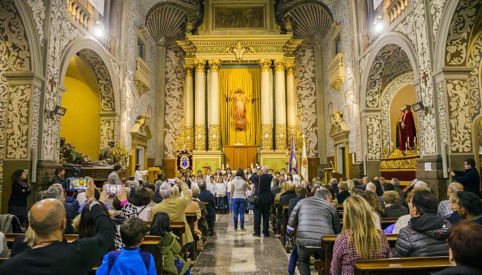 La presentació de l'opuscle de l'Associació La Salle de Tarragona (1)
