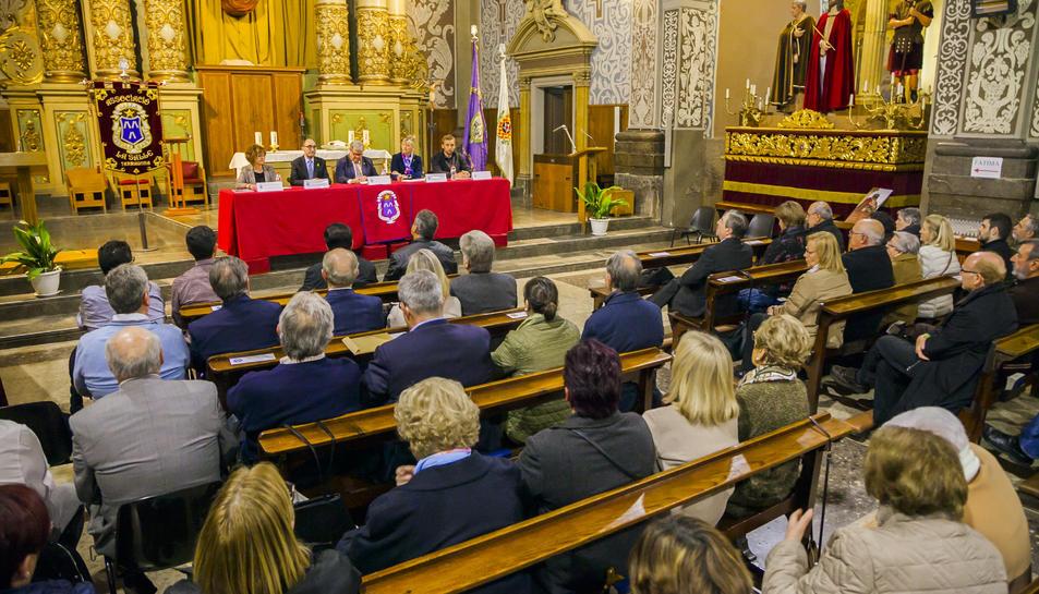 La presentació de l'opuscle de l'Associació La Salle de Tarragona (2)