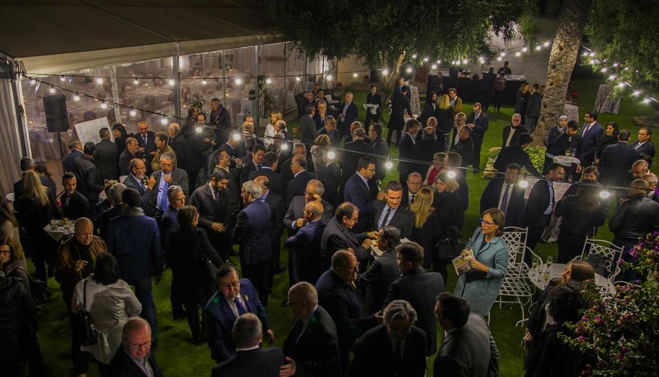 L'acte va comptar amb la presència de nombroses personalitats del món de la política, de l'empresa, de les institucions, de la comunicació, de l'ensenyament i de l'esport del Camp de Tarragona.