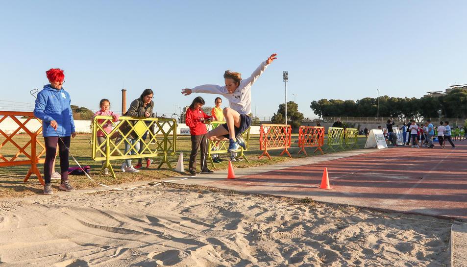 El salt de llargada va ser una de les darreres competicions que s'han disputat.