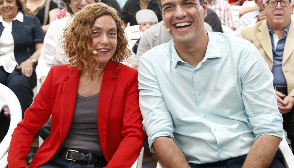 El líder del PSOE i president del Govern, Pedro Sánchez, estarà a Tarragona acompanyat de la ministra Meritxell Batet.