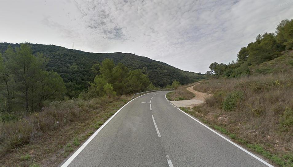 L'accident s'ha produït a la carretera que uneix la Selva del Camp amb VIlaplana.