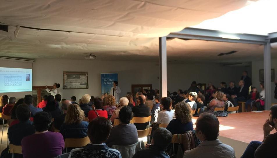 Imatge dels assistents a la xerrada.