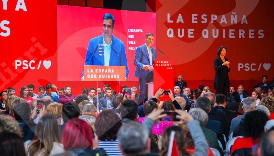 Pedro Sánchez a Tarragona