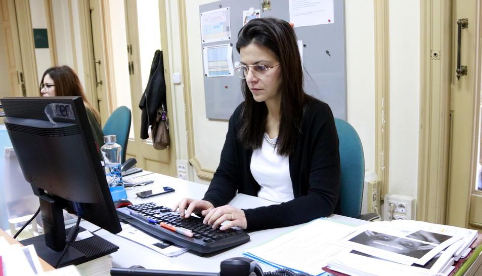 La directora general de l'Associació Contra l'Anorèxia i la Bulímia (ACAB), Sara Bujalance.