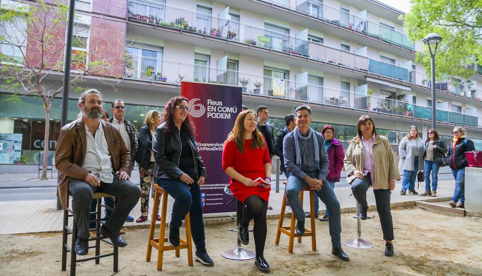 Gerardo Sisó, Nazaret Troya, Pilar Flamenco, Ricardo Redondo i Encarna Quirós.