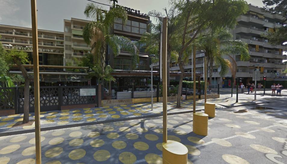 Els fets s'han produït al carrer Carles Buïgas de Salou. GOOGLE MAPS