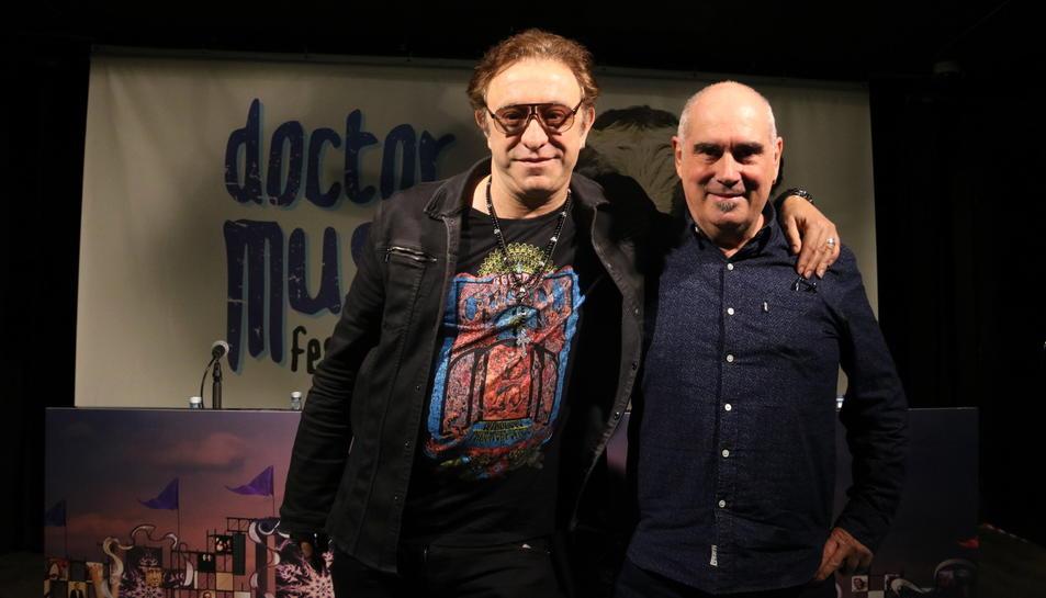 El director del Doctor Music Festival, Neo Sala, i el seu coordinador d'operacions, Jordi Mora.