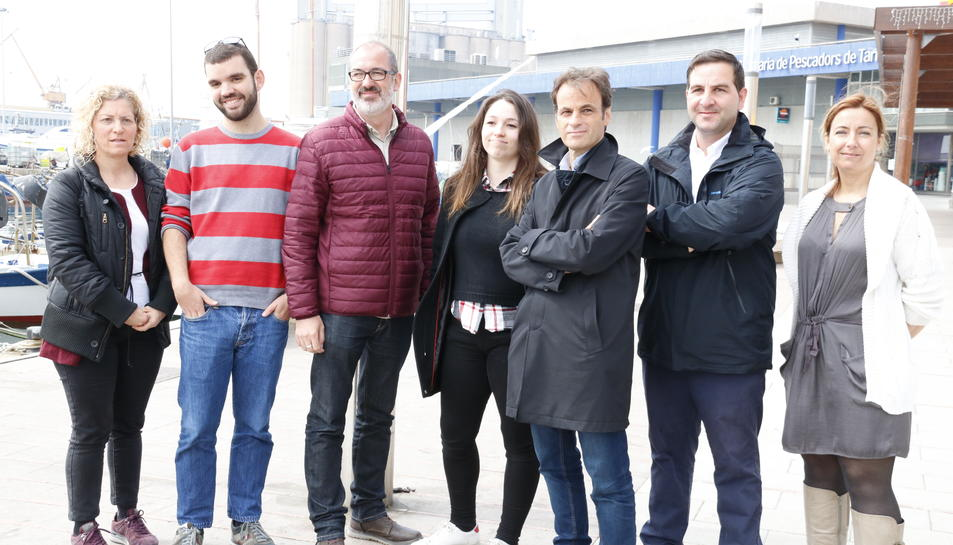 La candidatura d'En Comú-Podem a Tarragona a les eleccions del 28-A.