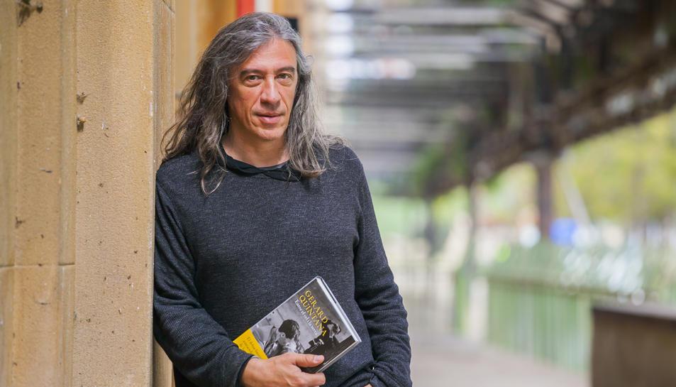 Gerard Quintana aquest dimarts a Tarragona.