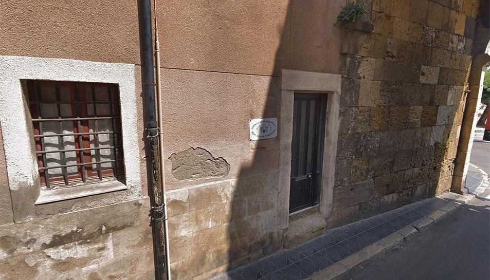 Imatge del local de l'Associació de Veïns de la Part Alta.