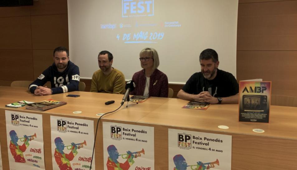 Imatge de la prenestació de la 2a edició del BP Fest.