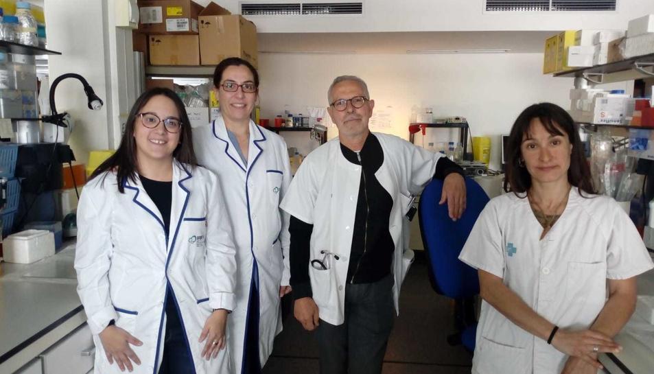 El grup de recerca del VIH de l'IISPV.