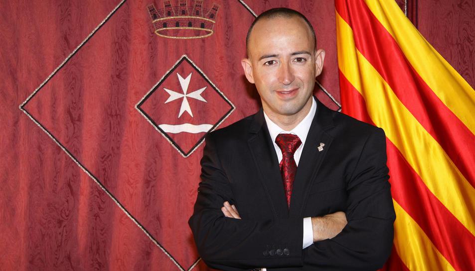 L'alcalde de Riba-roja d'Ebre i ara ja exdirector del serveis territorials de Territori i Sostenibilitat a les Terres de l'Ebre, Antonio Suàrez.
