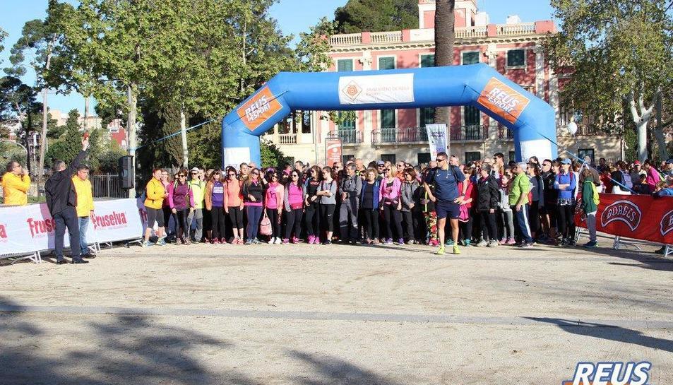 Imatge de l'edició passada, amb sortida a Mas Iglesias.