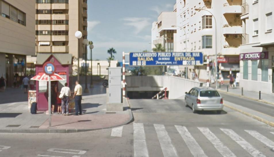 Imatge de l'aparcament on van tenir lloc els fets.