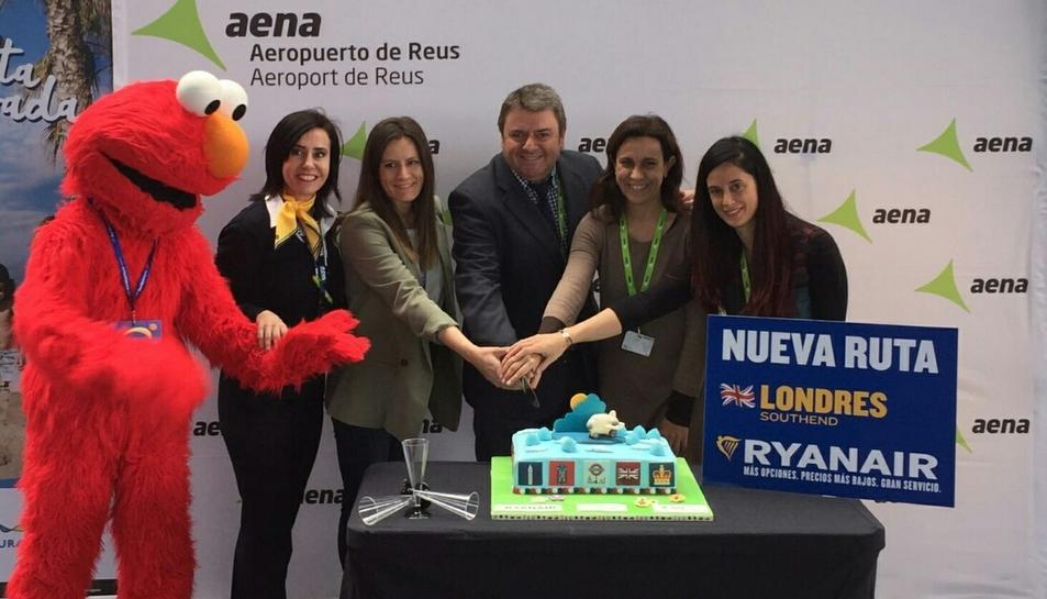 Per celebrar la nova ruta Reus-La nova connexió tindrà quatre vols setmanals fins a finals d'octubre