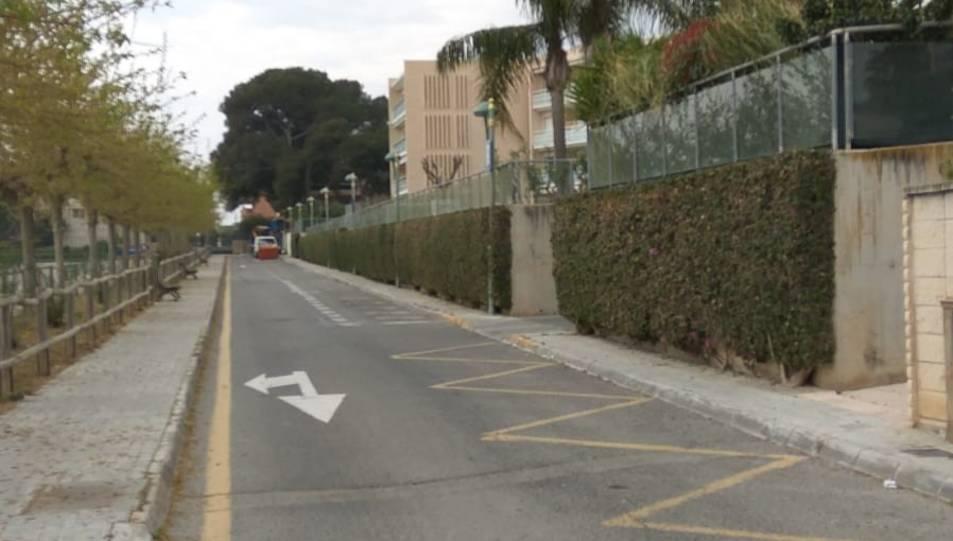 El carrer Tomàs Forteza, on s'han canviat les nou llumeneres.