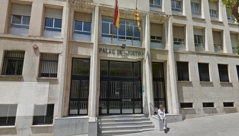 Palau de Justícia de Tarragona en una imatge d'arxiu.