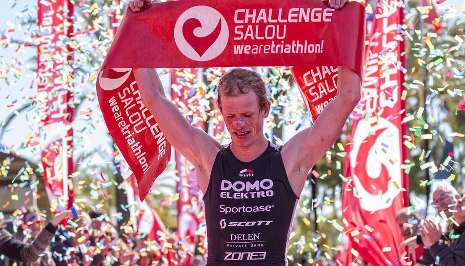 Pieter Heemeryck guanyador en la categoria masculina.