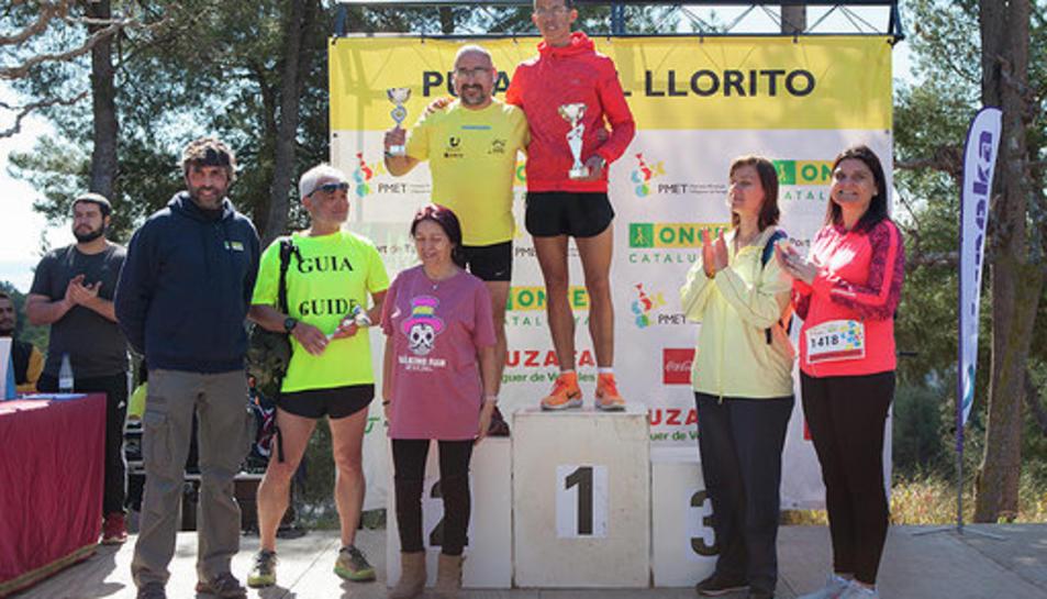 Imatge dels guanyadors.