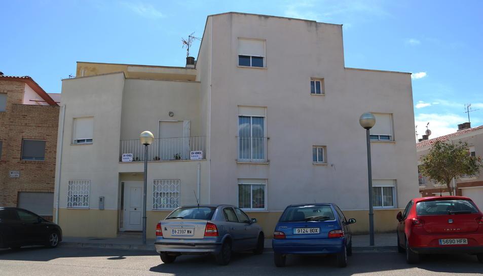 Imatge de la casa d'Ulldecona on la Guàrdia Civil va detenir una persona relacionada amb la desaparició.