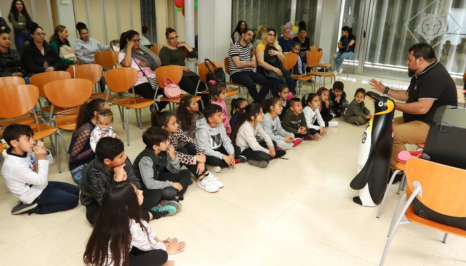 L'acte es va celebrar ahir al Centre Cívic Migjorn.