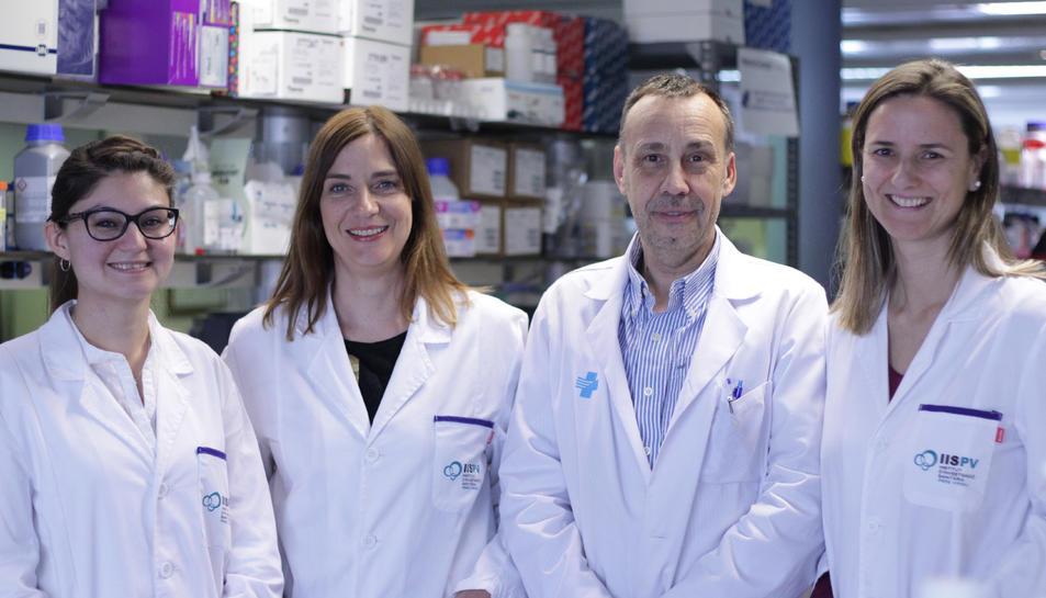 Imatge dels investigadors de l'IISPV que han participat en la investigació.