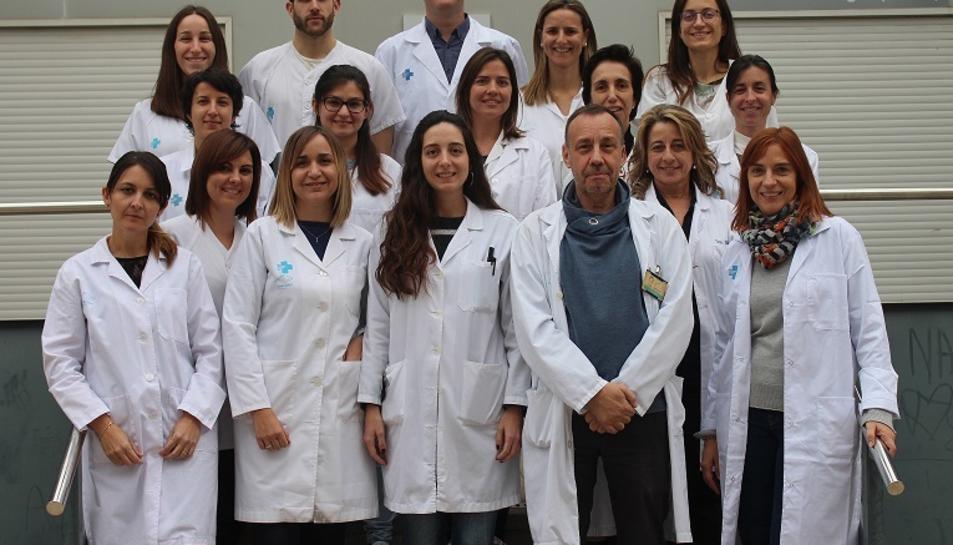 El grup d'investigadors de l'Hospital Joan XXIII que han participat en la investigació.